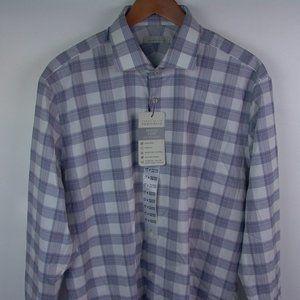Perry Ellis 17 32/33 Portfolio Travel LS Shirt NWT